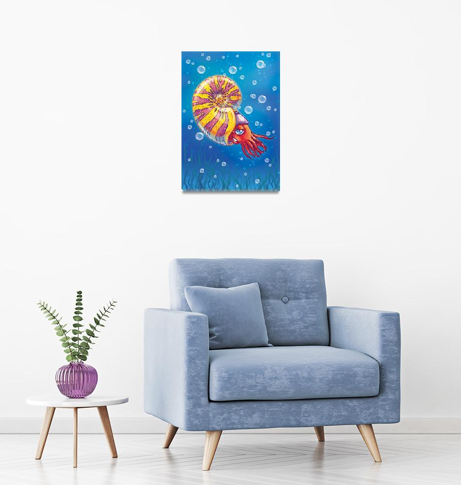 """Ammonite""  by Fany"
