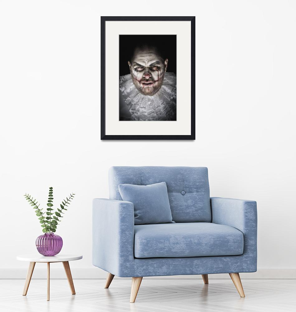 """""""Scary Evil Clown""""  (2018) by FacesStudio"""