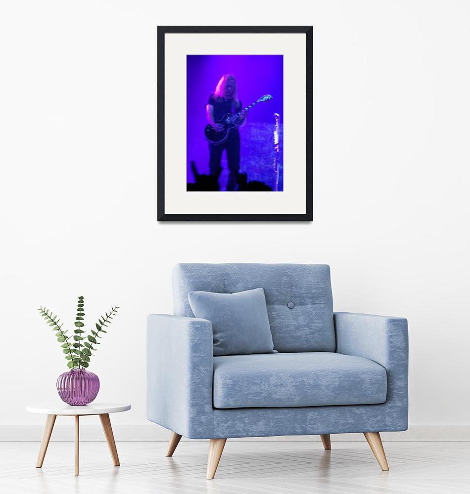 """""""Alice in Chains - Jerry Cantrell Purple""""  (2010) by robvena"""