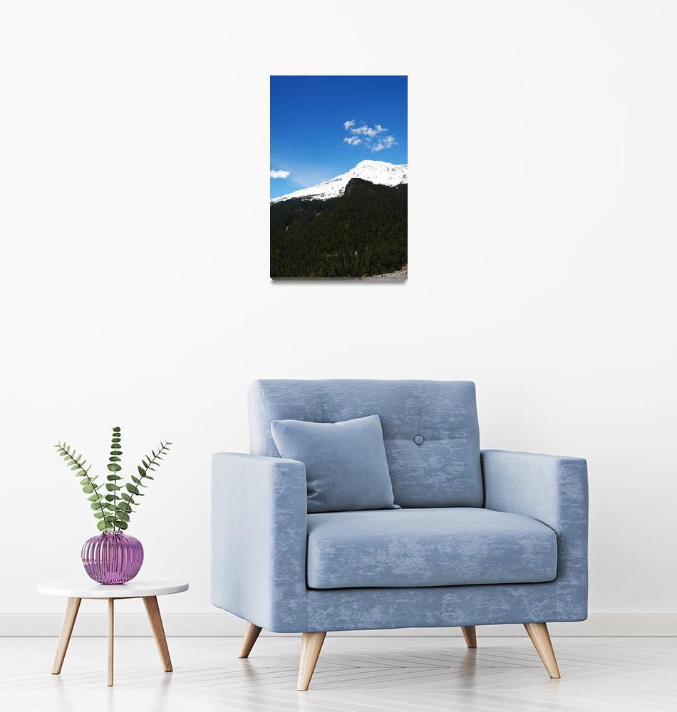"""Mount Rainier""  (2011) by brentmcglothin"