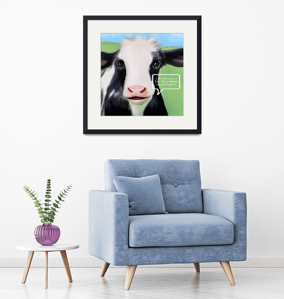 """To The Moo and Back""  (2019) by tammyleebradley"