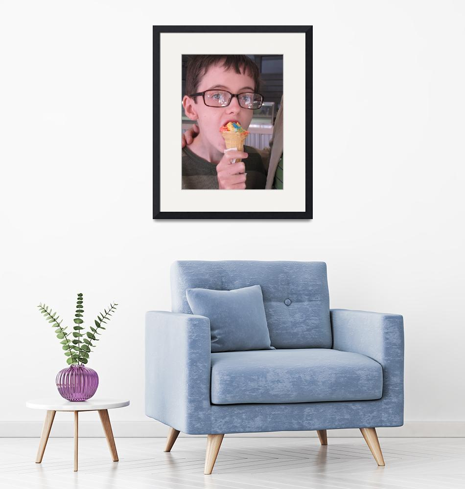 """""""Peter with Ice Cream""""  (2011) by ChamplainAvenue"""