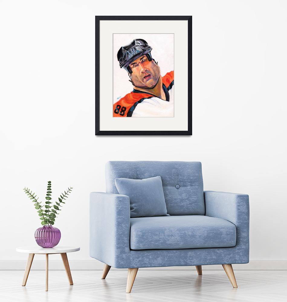 """Eric Lindros""  by odea"