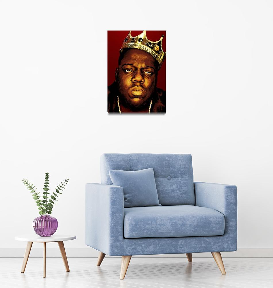 """Biggie Smalls""  (2010) by DanAvenell"