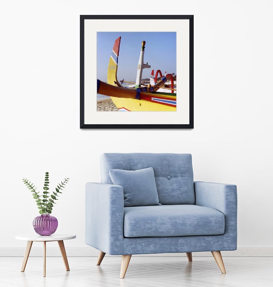 """""""Boats on Sindhu Beach""""  (2014) by haydenpascal"""