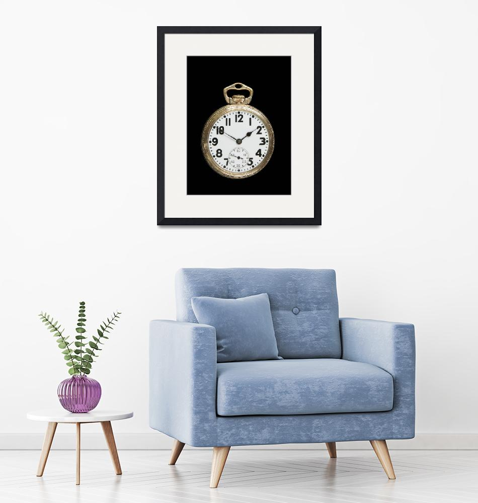 """""""Art Deco Pocket Watch""""  (2009) by ImageArt-Photography"""