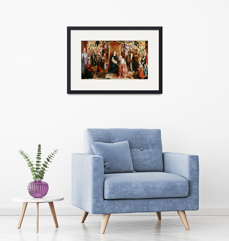 """The Adoration of the Kings""  by fineartmasters"
