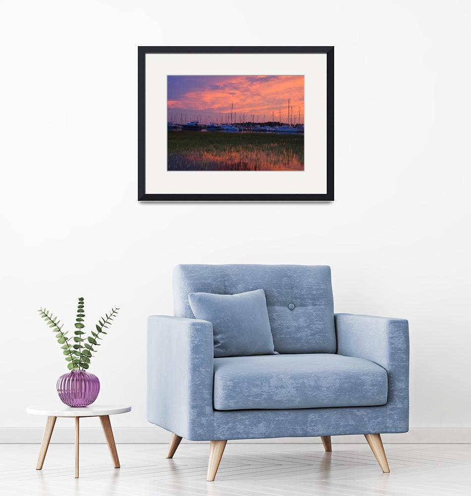 """""""Sunset in Scull Creek 02""""  (2019) by alex1230"""