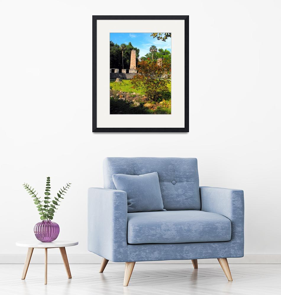 """Old Sugar Mill Ruins""  (2008) by ChrisCrowley"