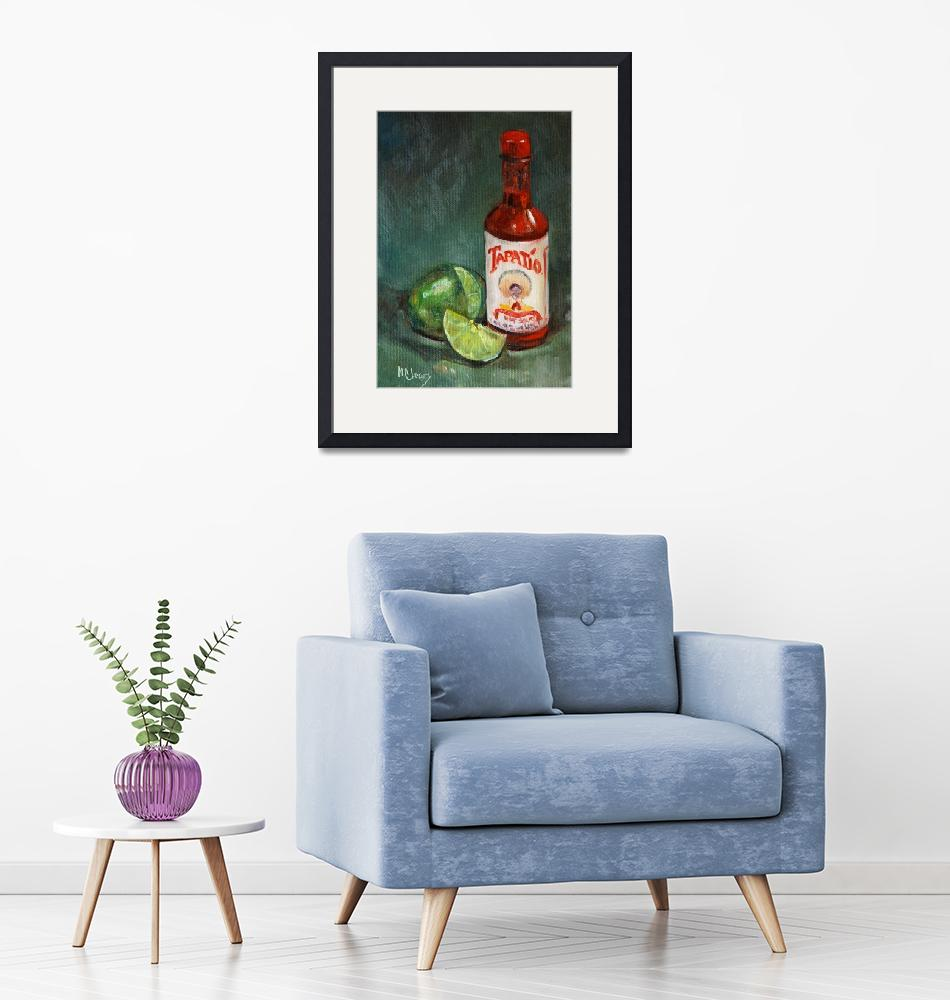 """""""Tapatio Hot Sauce""""  (2008) by maryanncleary"""