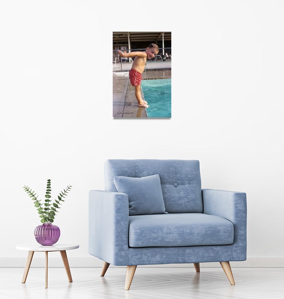 """Sunnybrook Swim Club (1950)""  by davecatts"
