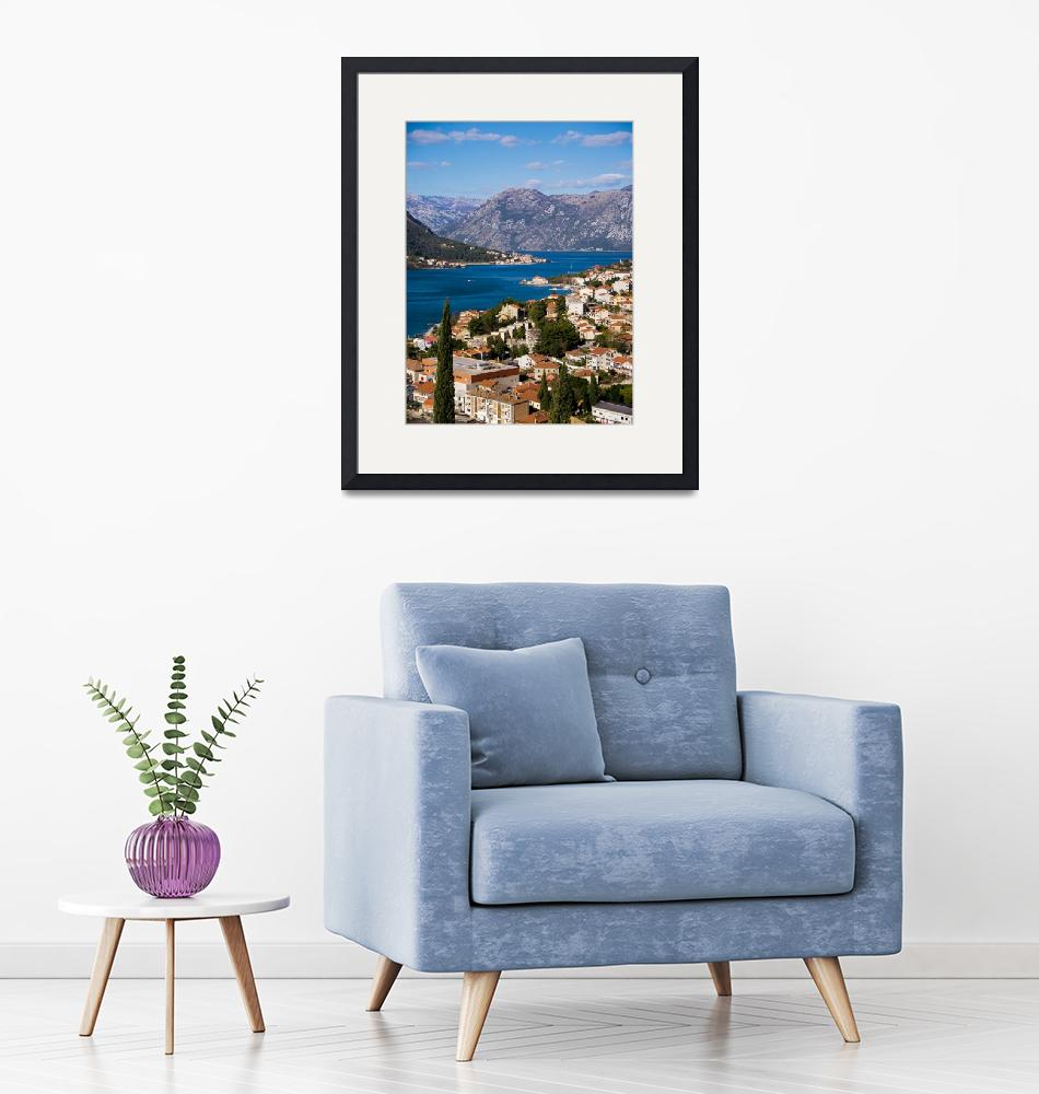 """View of Kotor Bay""  (2018) by raetucker"