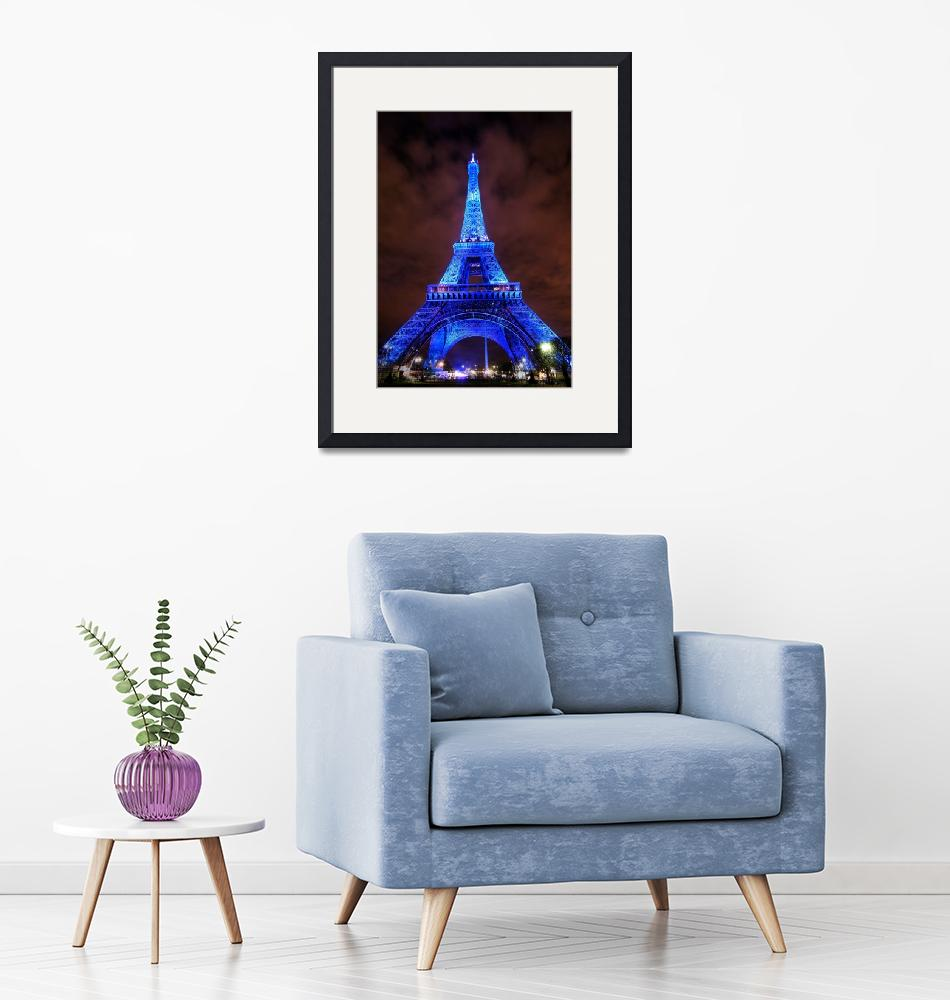 """""""Eiffel Tower By Night""""  (2008) by lisa_kc"""