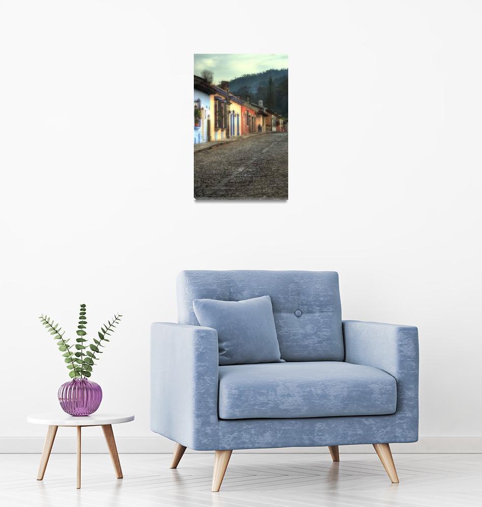 """Morning Street, Antigua Guatemala""  (2007) by dawilson"