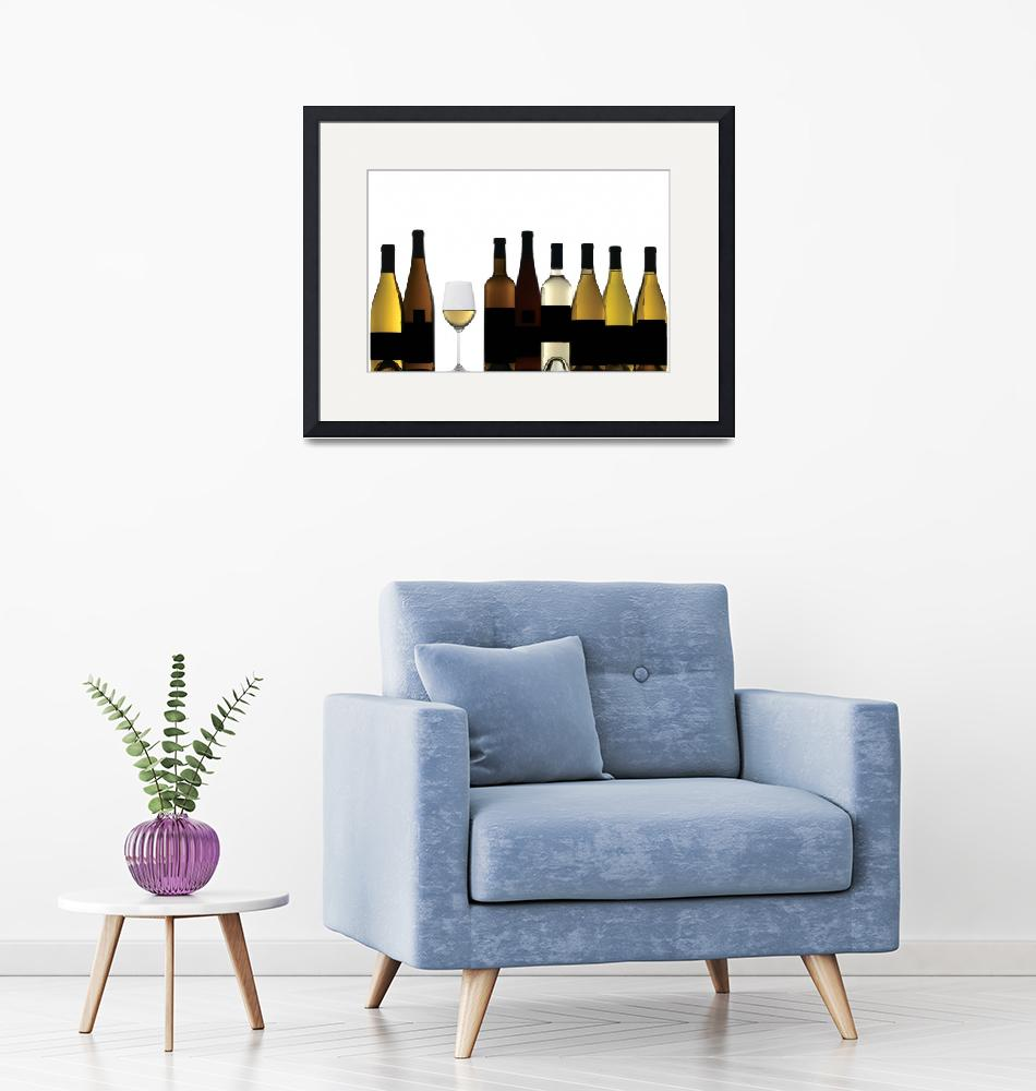 """""""White Wines""""  by winecountrycreations"""