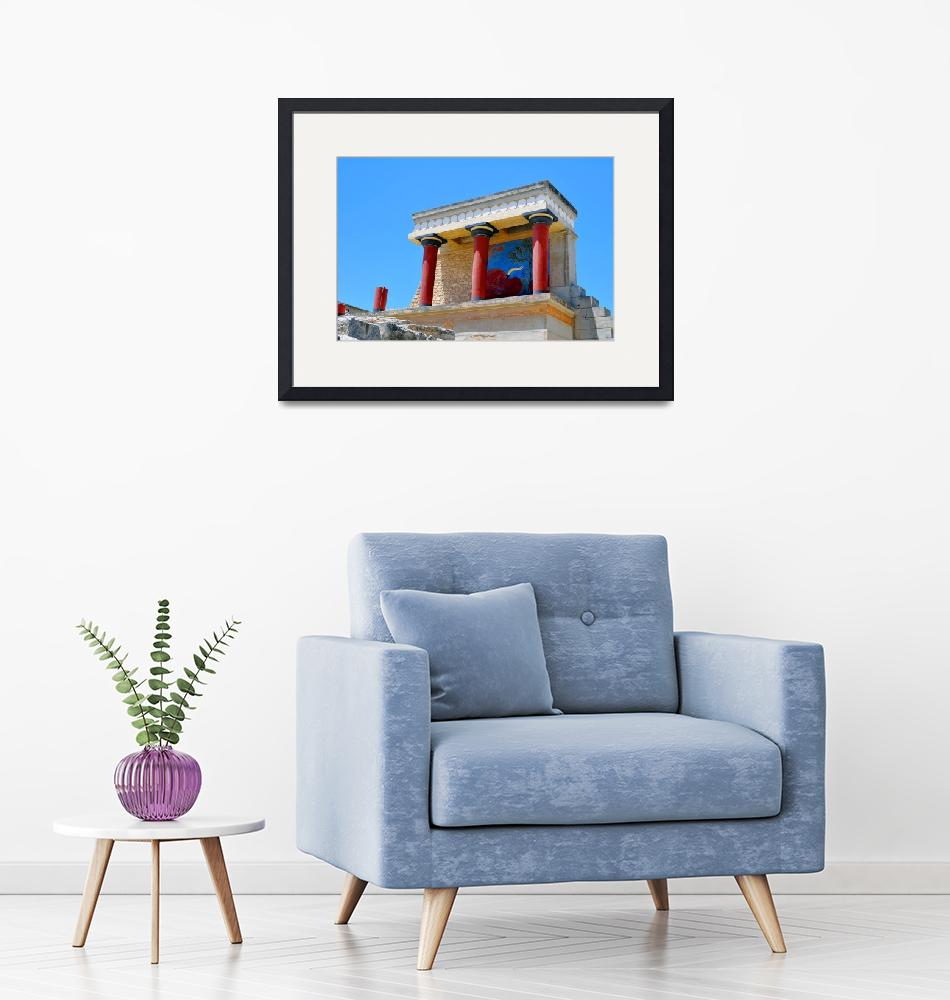 """""""Archaeological site of Knossos. Minoan Palace. Cre""""  by FernandoBarozza"""