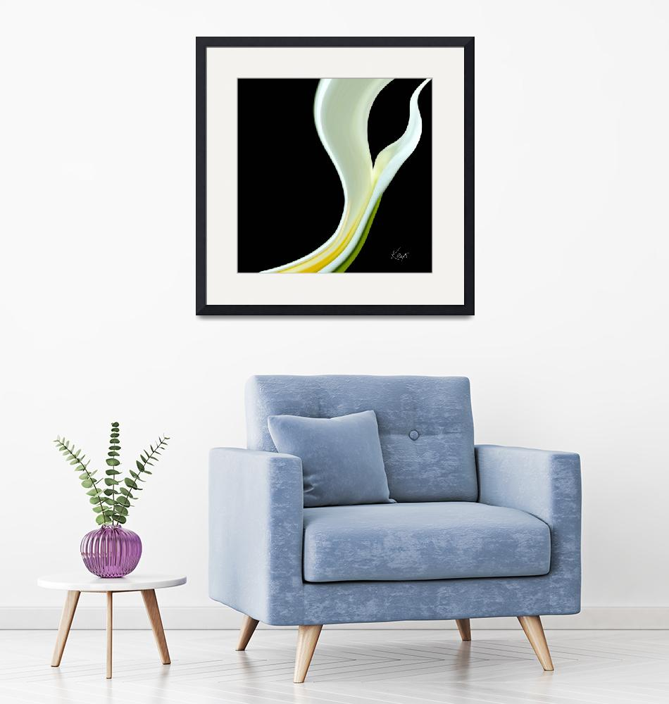 """Abstract floral-lily""  (2007) by artbykeys"