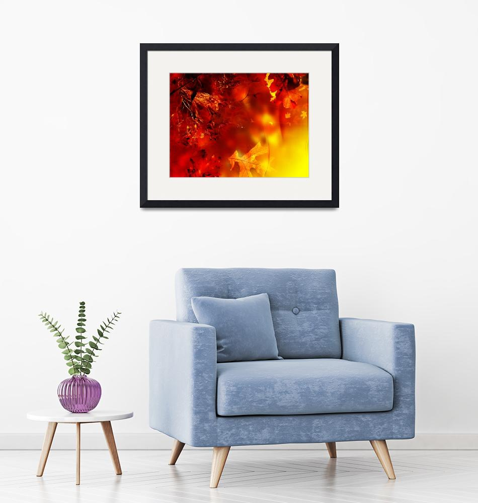 """""""Abstract floral poster""""  by IndianSummer"""