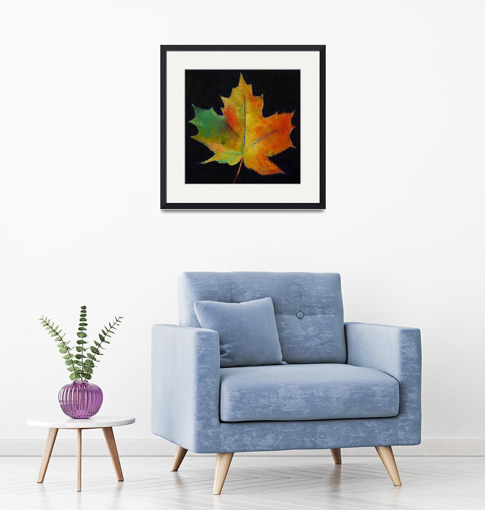 """""""Maple Leaf""""  by creese"""