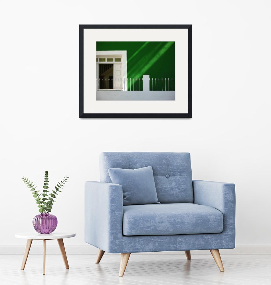 """""""Green and White""""  by WillAustin"""