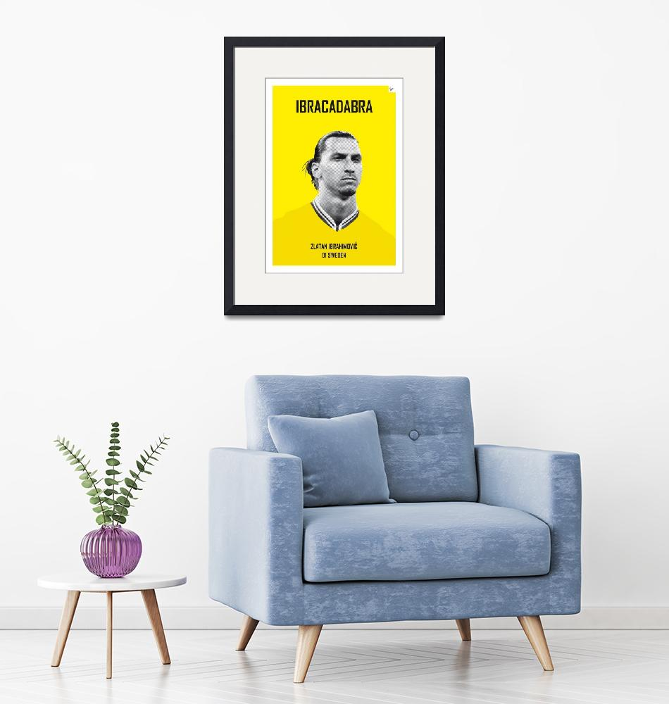 """""""My Zlatan soccer legend poster""""  by Chungkong"""