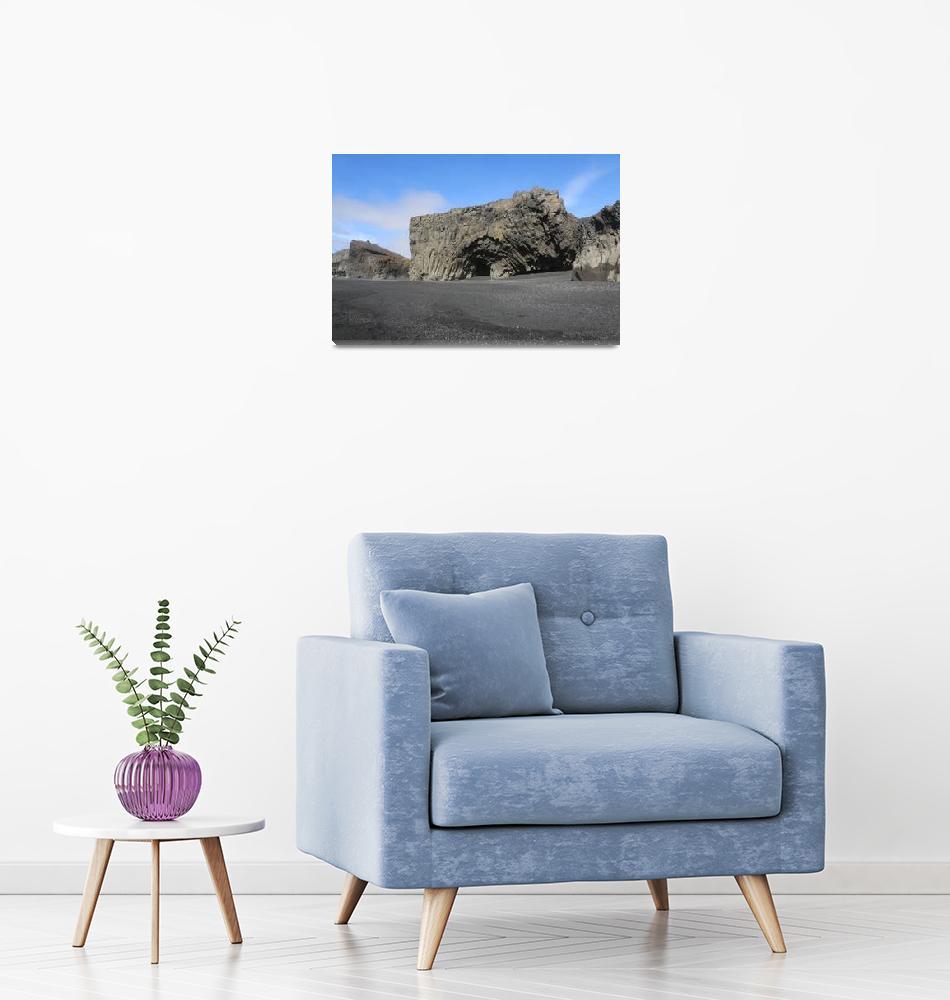 """Reynisfjara Black Sand Beach""  (2020) by ChrisSeufert"