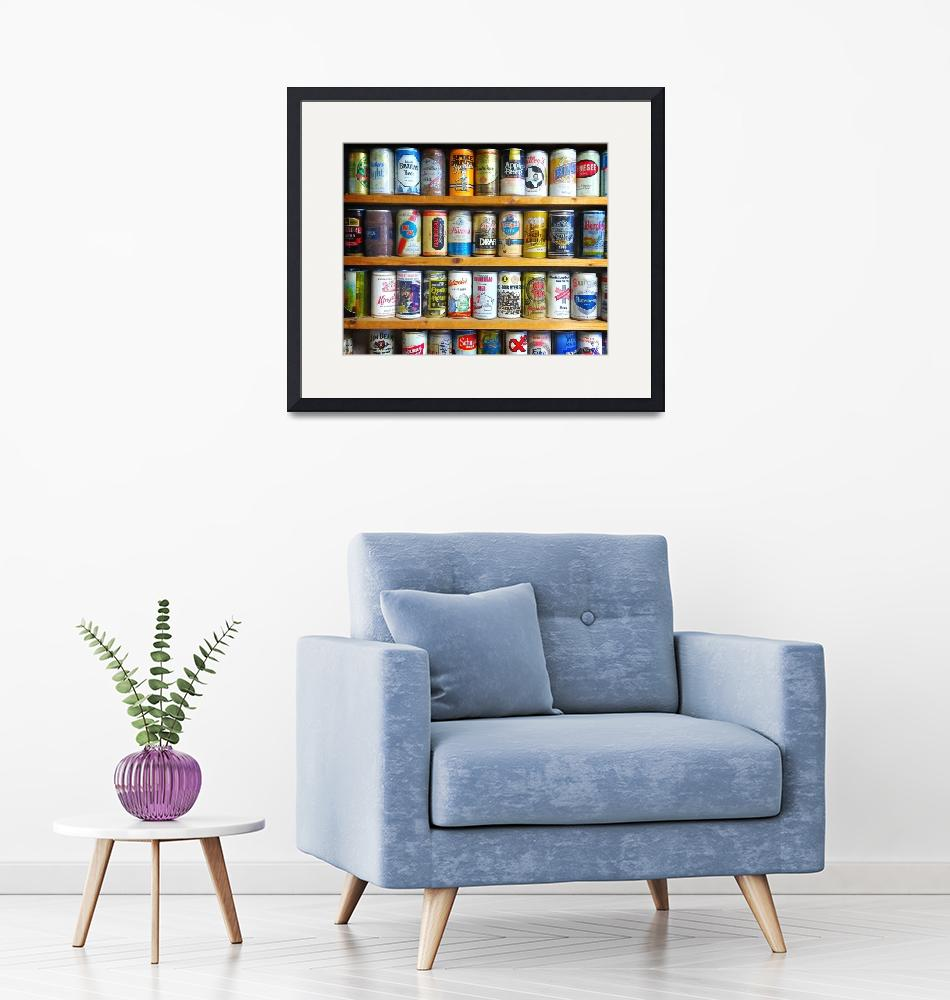 """""""Surroundings - Vintage Beer Cans""""  (2020) by ChrisAndruskiewicz"""