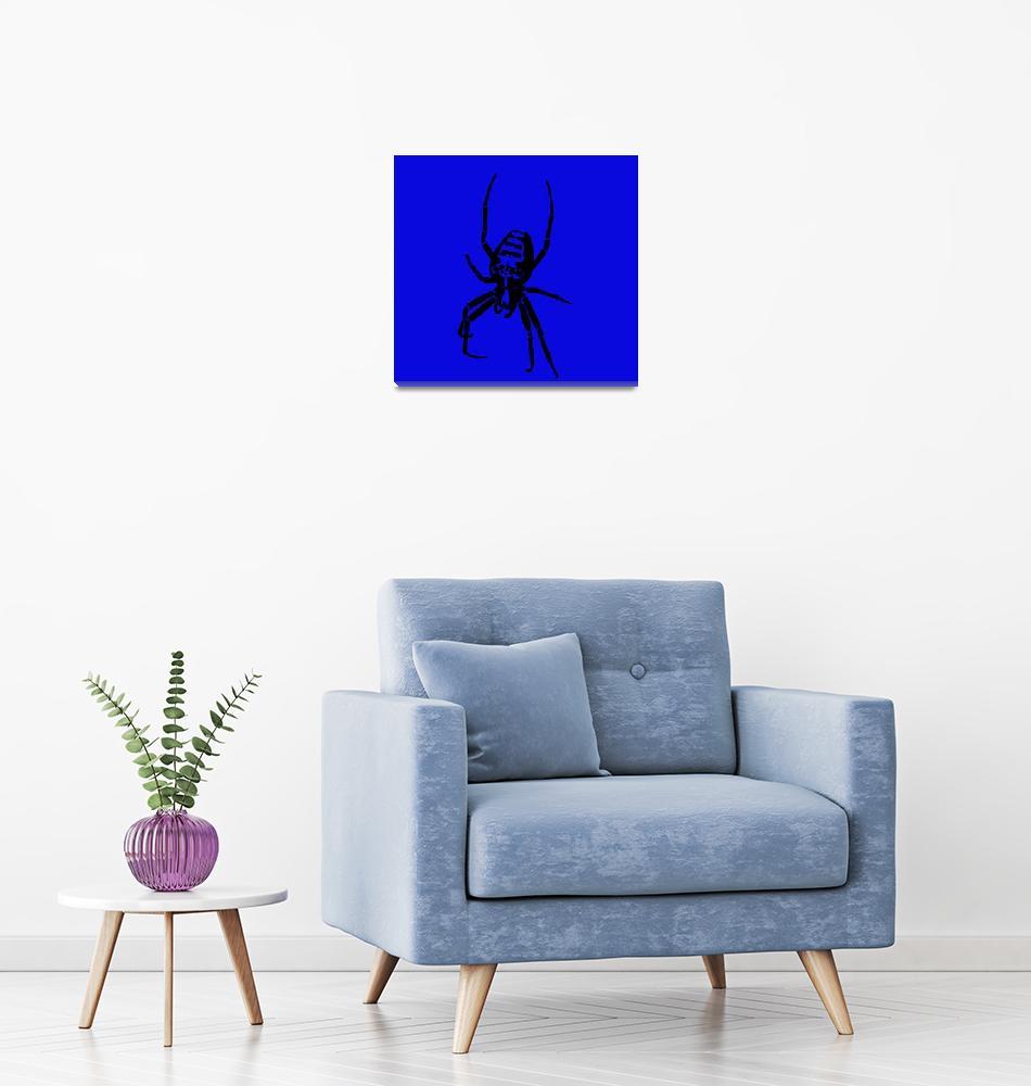 """""""Spider - Black & Blue 2""""  (2011) by ChainsawNecktie"""