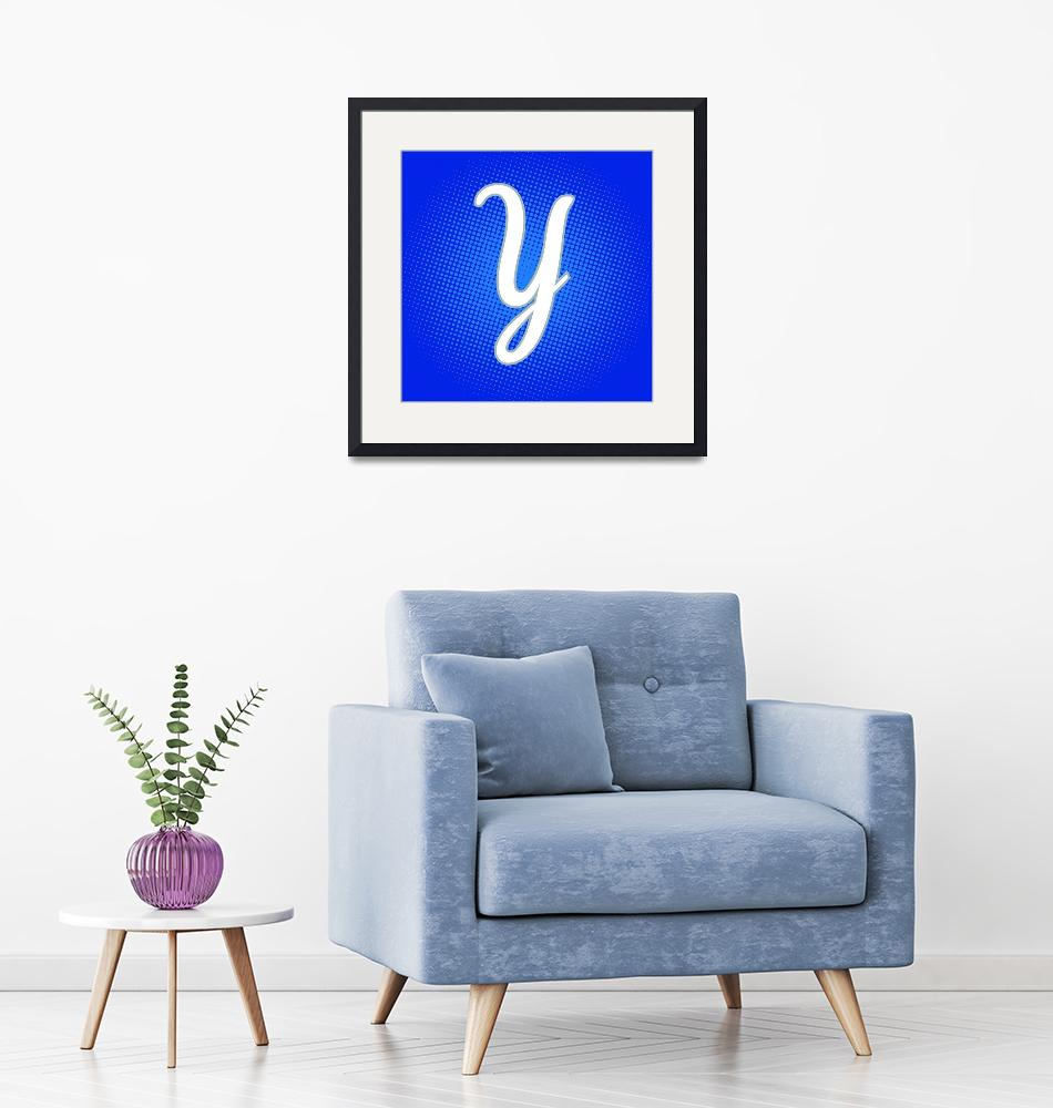 """Y-York-PP""  by LetterPopArt"