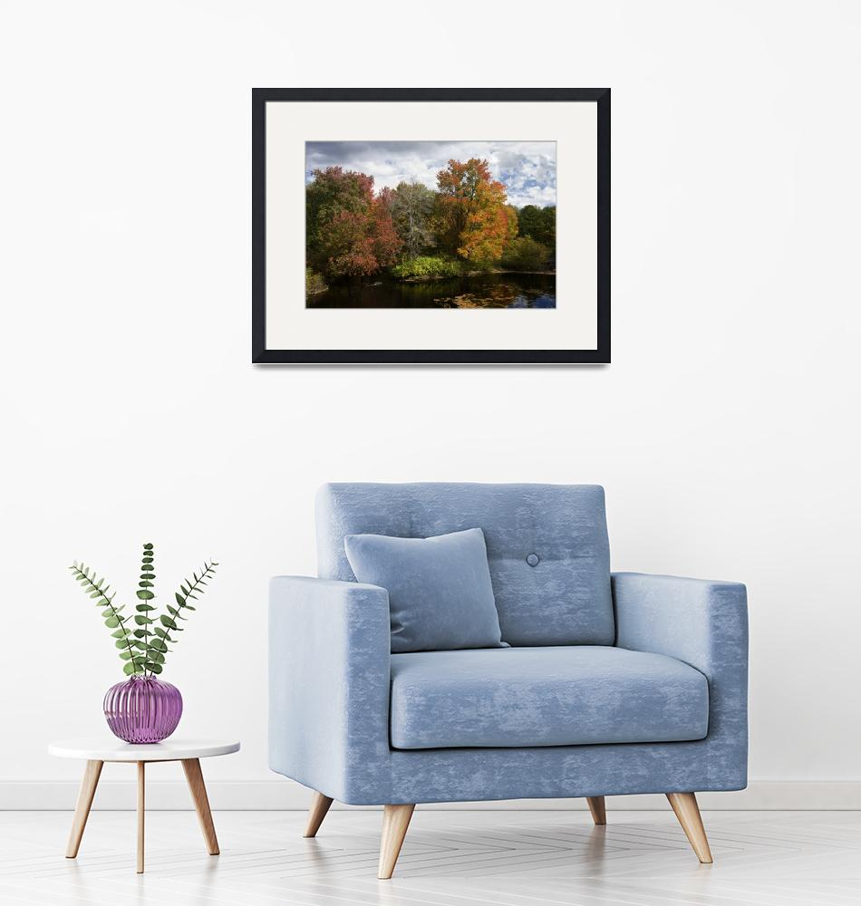 """""""October Foliage Epping NH 1""""  (2009) by kanid99"""