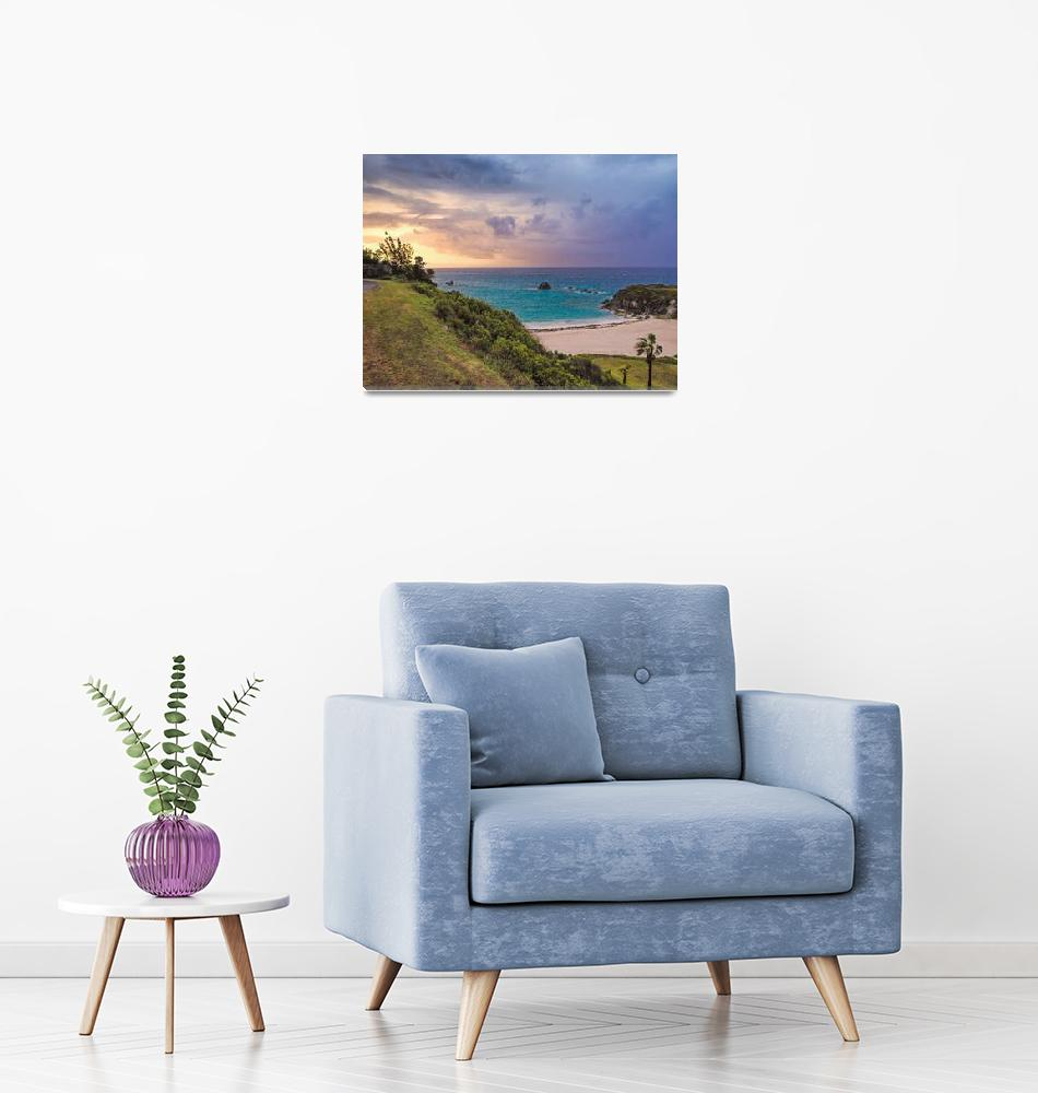 """Bermuda Sunrise""  by PadgettGallery"