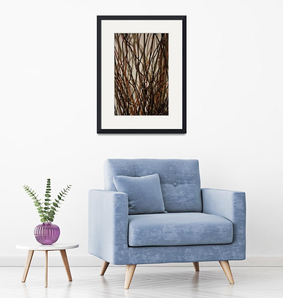 """""""Wood Reeds"""" (2015) by LurenaHuffman"""
