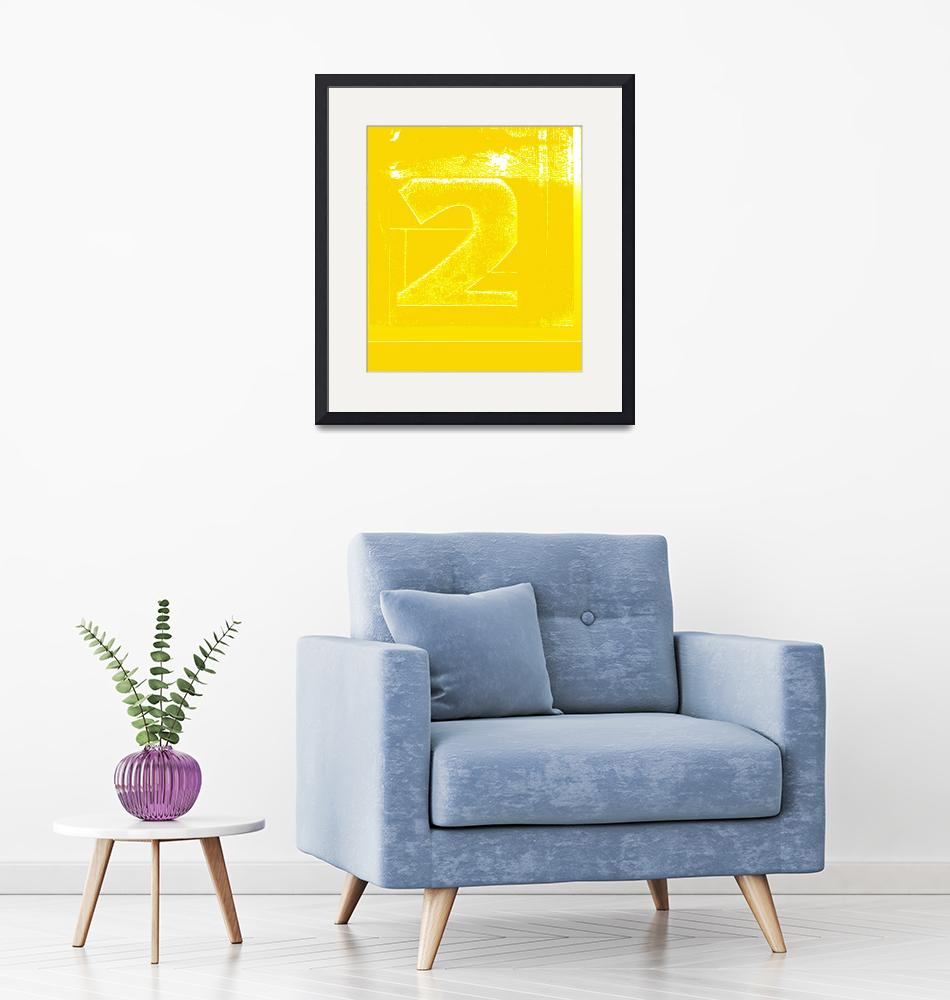 """""""Print Two Yellow""""  (2009) by literal-illustrations"""