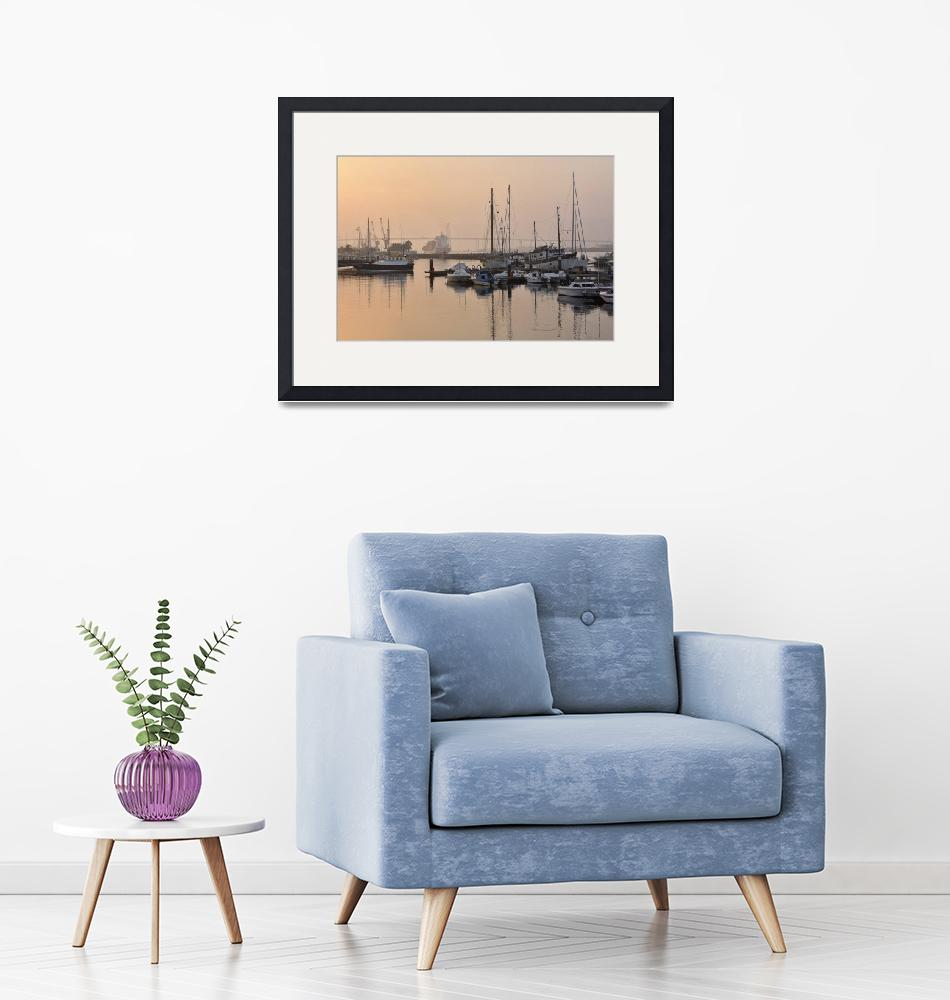 """""""Misty Harbor""""  (2016) by mStepanPhotographer"""