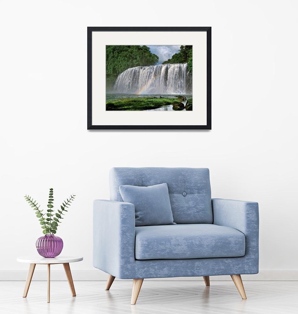 """Tinuy-an Falls,Philippines""  by Leksele"