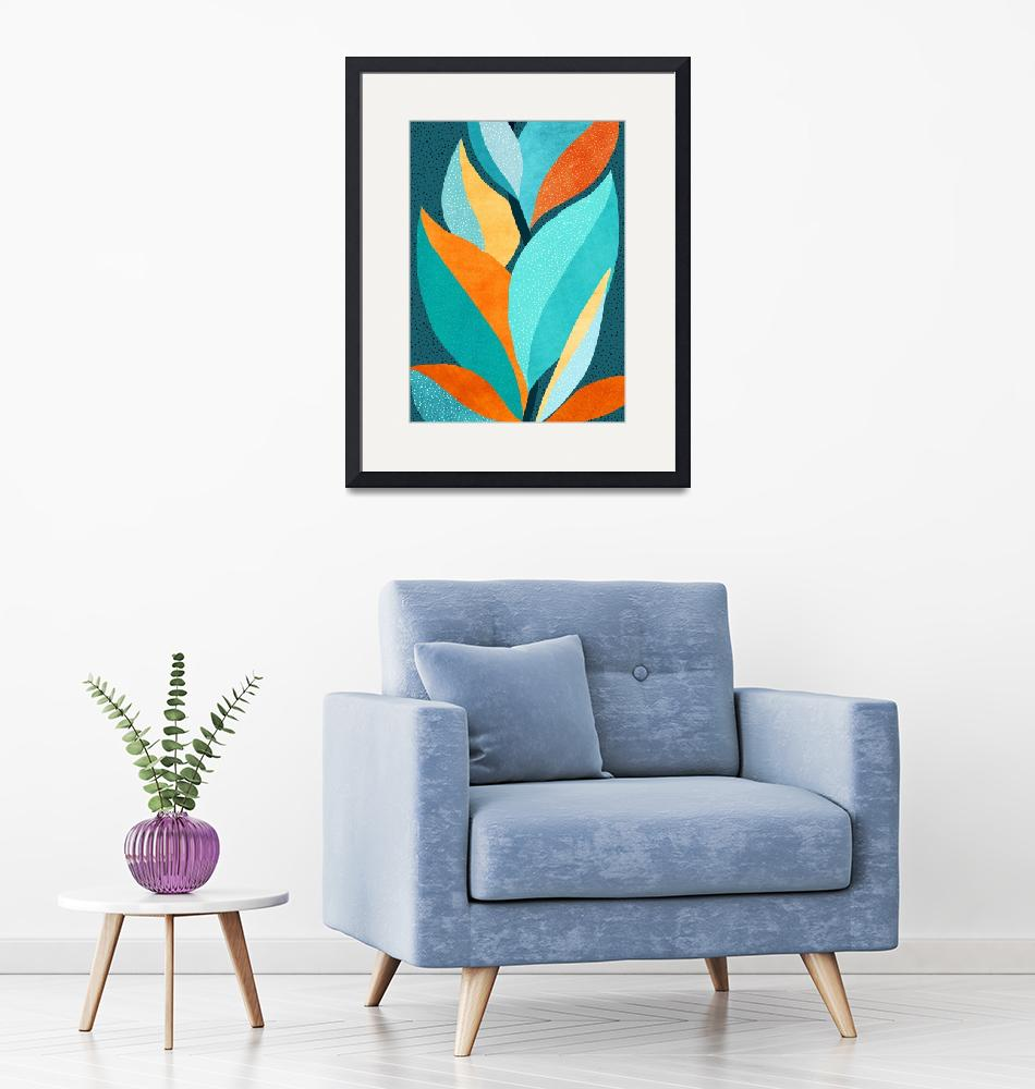 """""""Abstract Tropical Foliage""""  (2020) by moderntropical"""