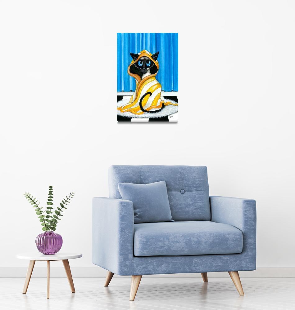 """Clean Kitty Cat Series""  (2016) by AmyLynBihrle"