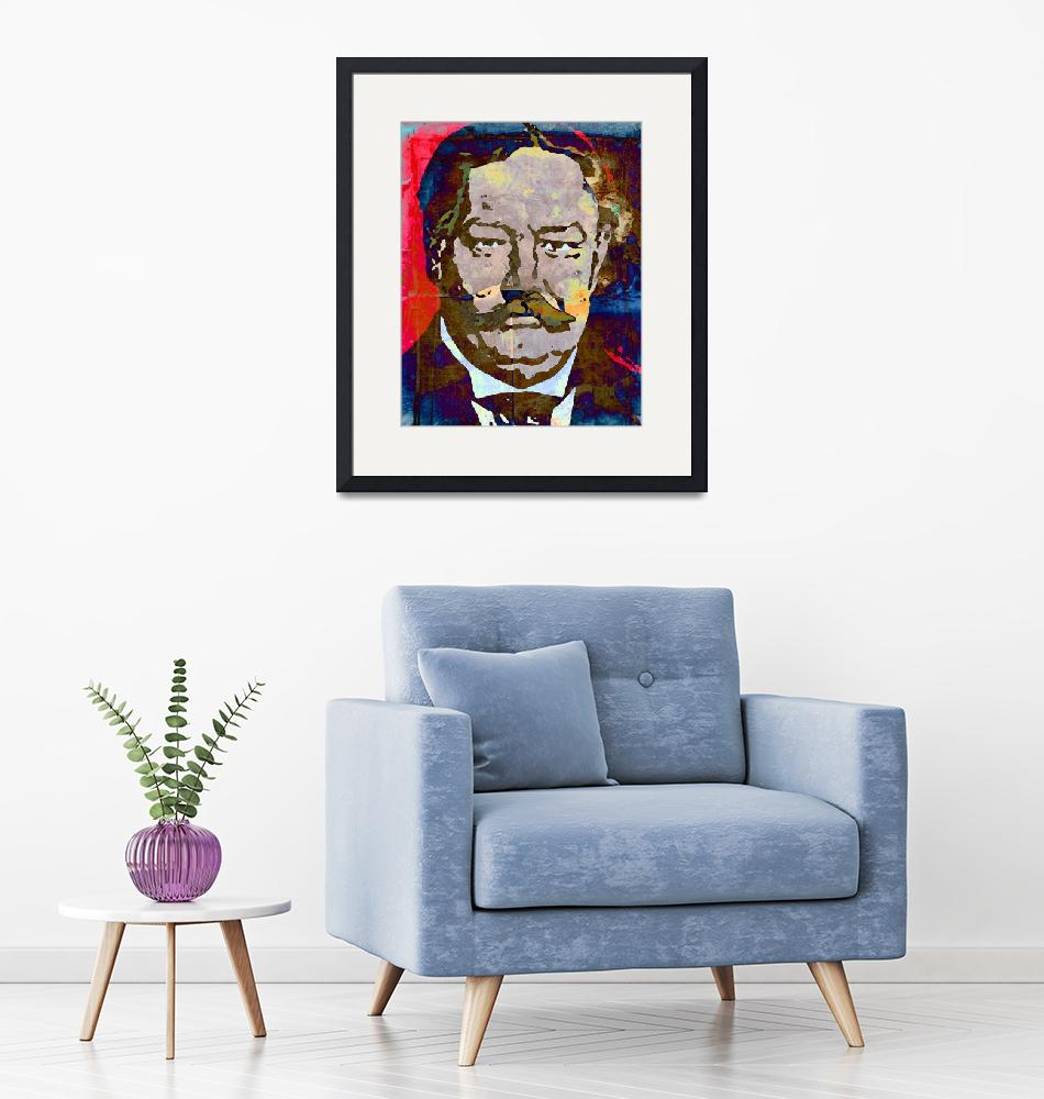 """""""William Howard Taft-27th President (Color) 2""""  (2014) by thegriffinpassant"""