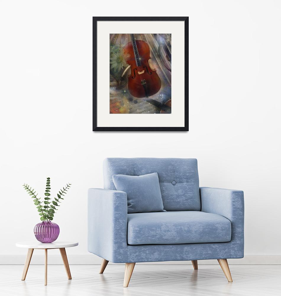 """""""Strike a Chord with this Beautiful Musical Design""""  (2008) by BarbaraLandrith"""