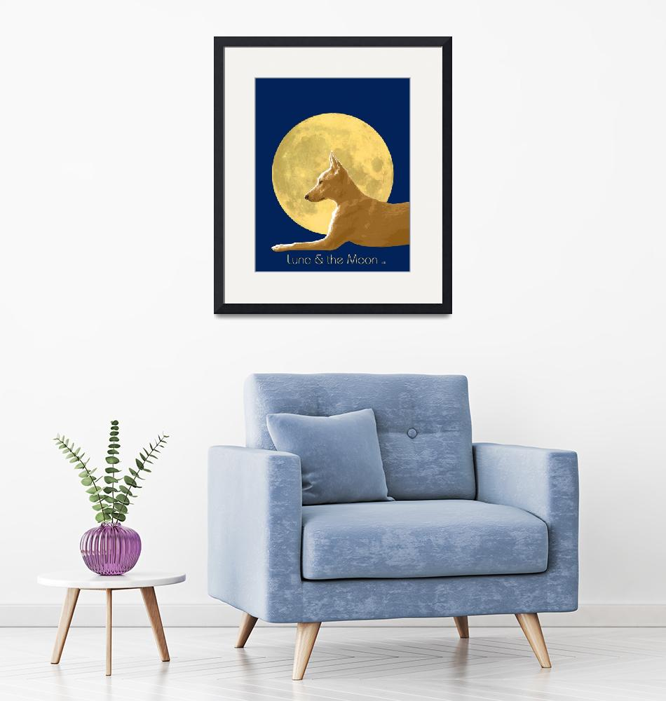 """""""Luna and the Moon""""  by Ars_Brevis"""