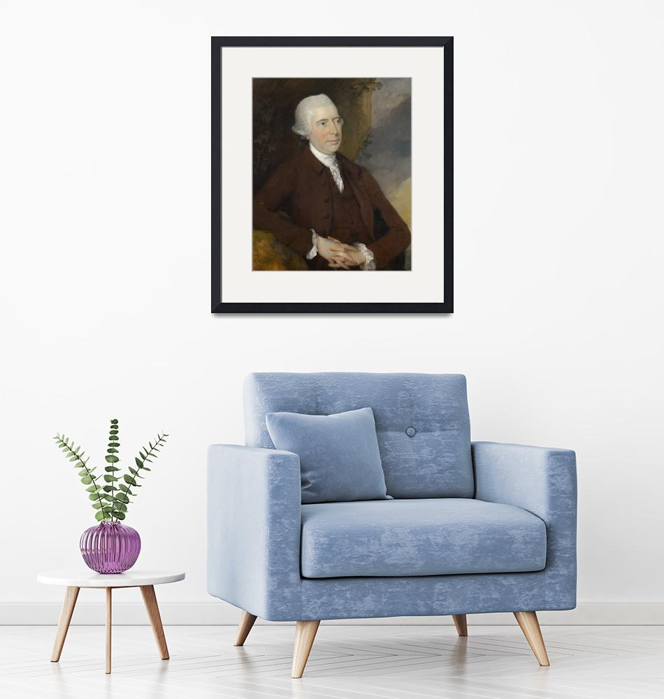 """""""Thomas Gainsborough~Sir George Chad, Baronet of Th""""  by Old_master"""