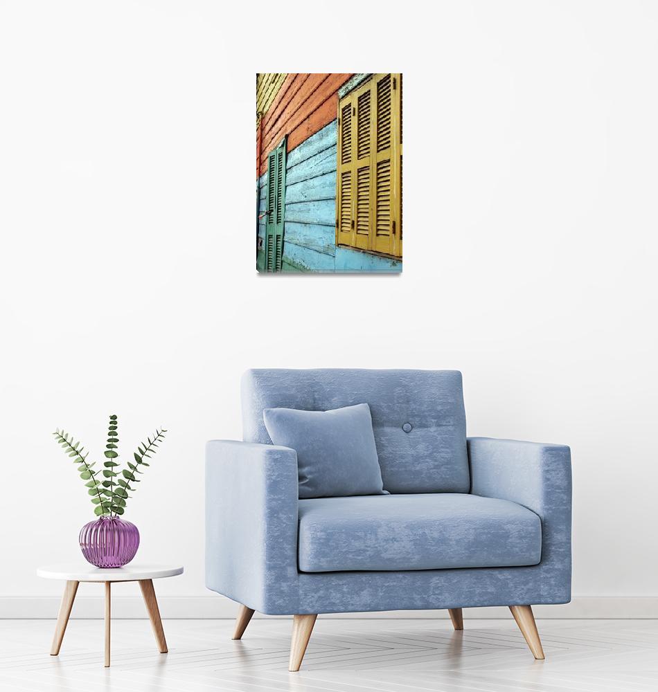 """colorful window""  (2007) by BalancedArt"