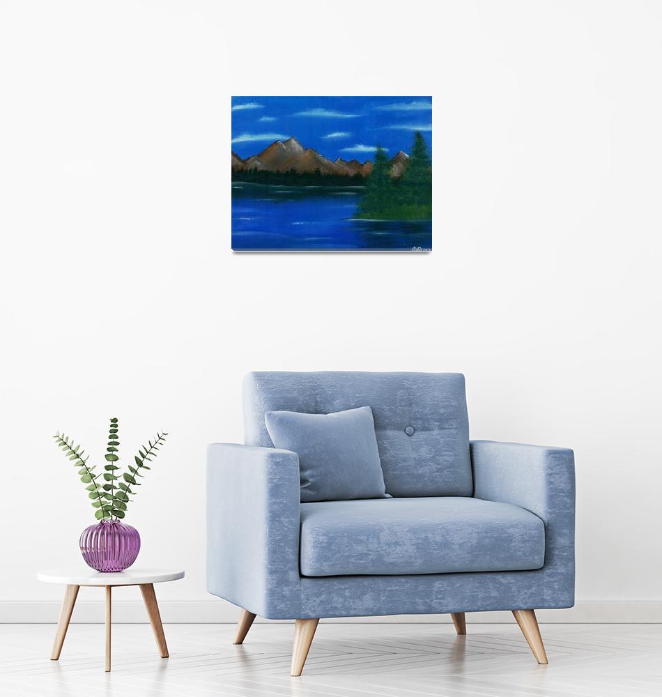 """""""Mountain Lake""""  by majorarte"""