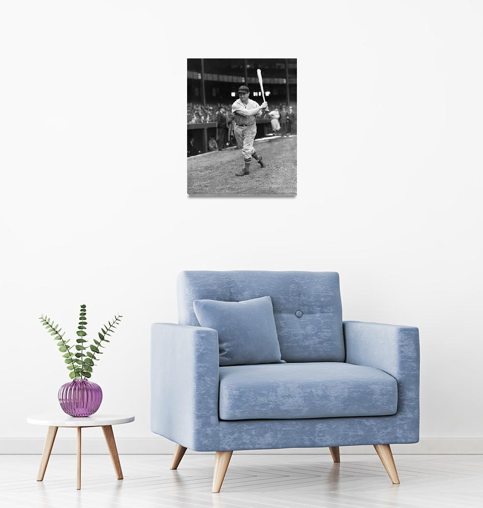 """""""Jimmie Foxx Red Sox batting""""  by RetroImagesArchive"""