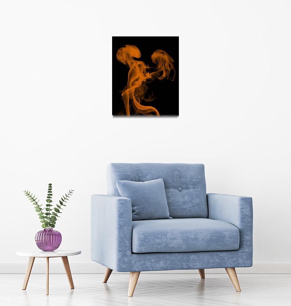 """Orange Smoke Dragons""  (2011) by ProdigyPhotography"