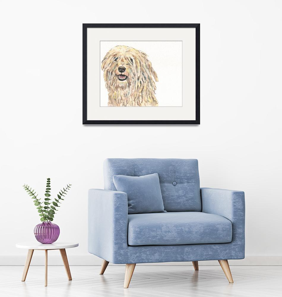 """""""Cru the Canoeing Corded Puli""""  (2014) by Designomel"""