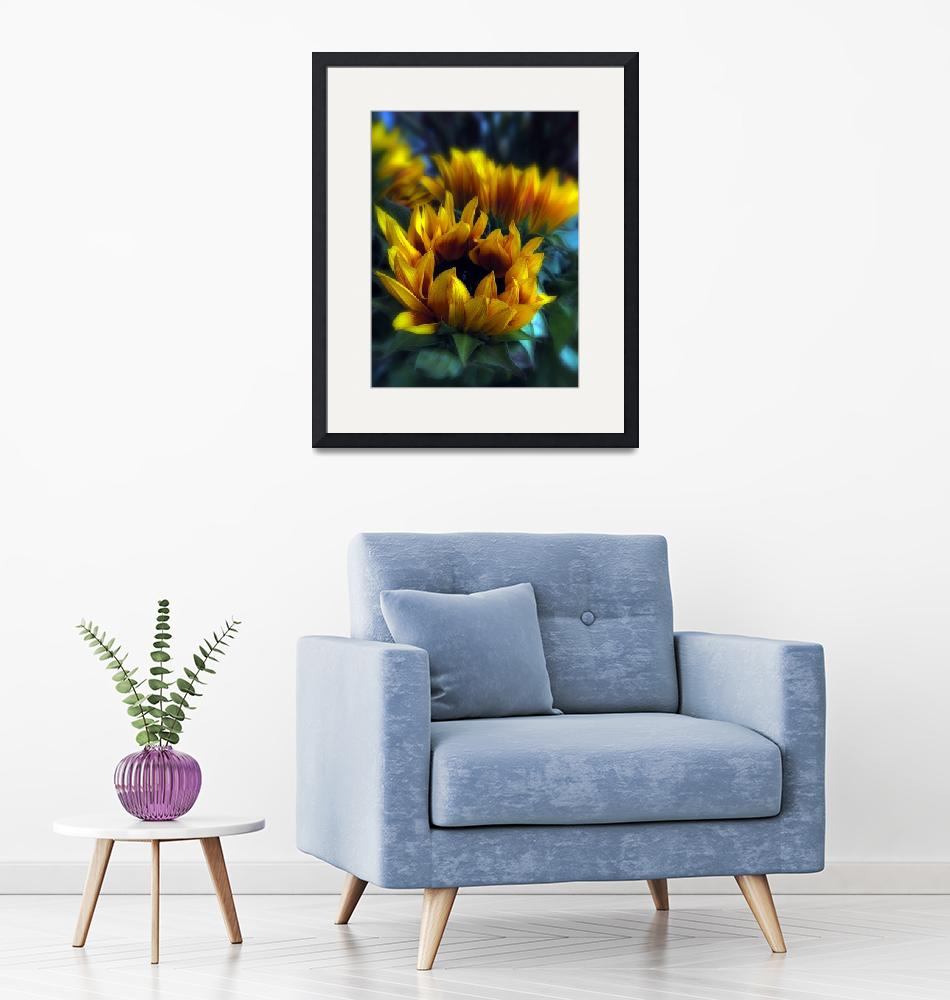 """""""Sunflowers""""  (2010) by JessicaJenney"""