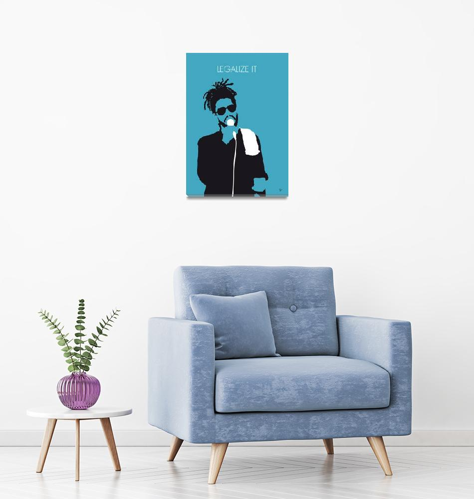 """""""No225 MY PETER TOSH Minimal Music poster""""  by Chungkong"""
