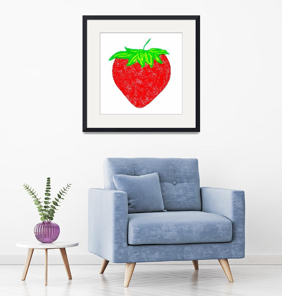 """""""Strawberry""""  (2010) by angbkrtreasures"""