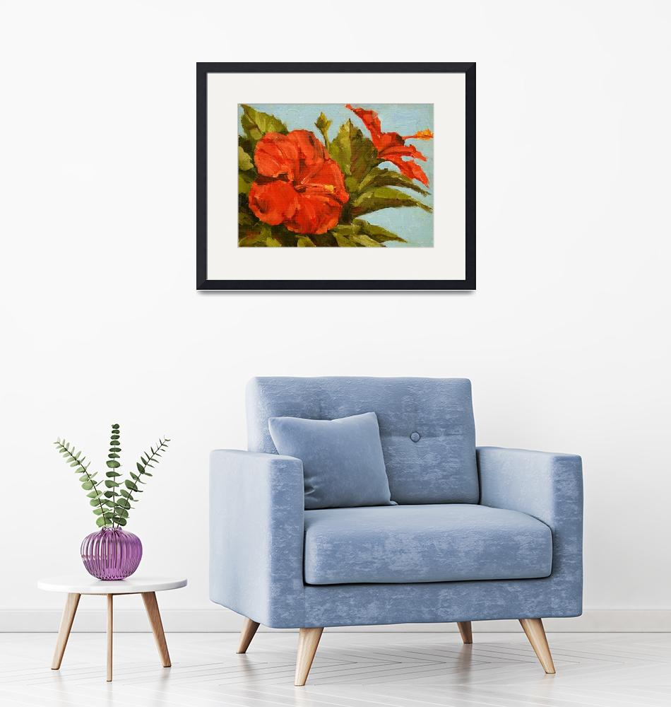 """""""Florida Hibiscus""""  by davidwesterfield"""
